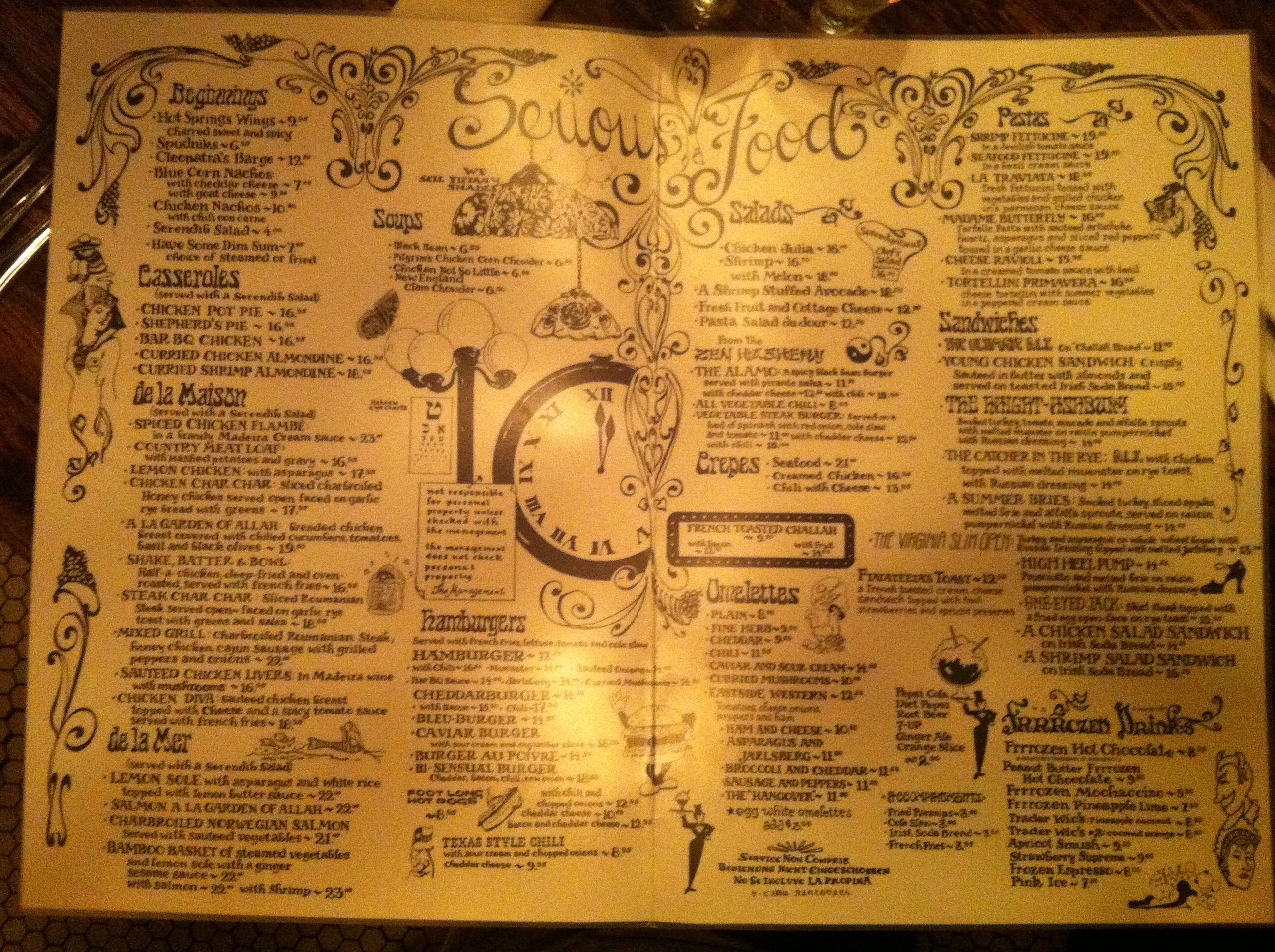 Restaurant review – Serendipity 3 | Tasel's Ramblings