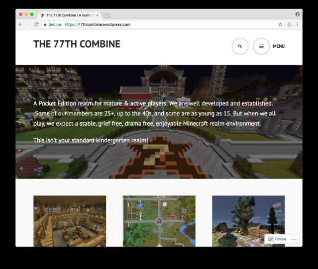 the77thCombine.com