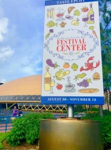 2018 Festival Center Banner
